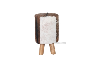Picture of GROTO Stool *Genuine Goathide