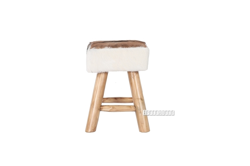Picture of LHASA Stool *Genuine Goathide