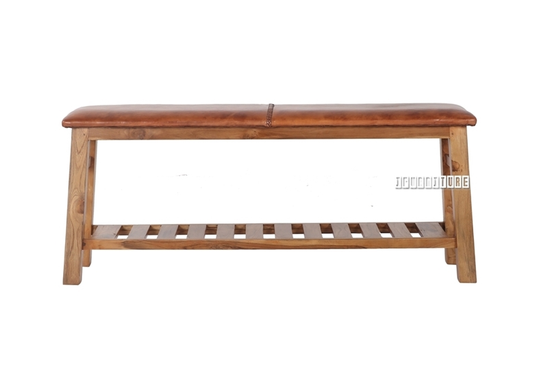 Picture of GALAPAGOS Bench *Genuine Cowhide