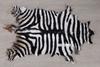 Picture of White ZebraMat/Carpet * Genuine Goat Leather