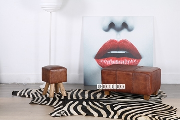 Picture of ZEBRA Mat/Carpet * Genuine Cowhide