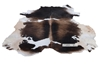 Picture of Natural BW Mat/Carpet * Genuine Cowhide