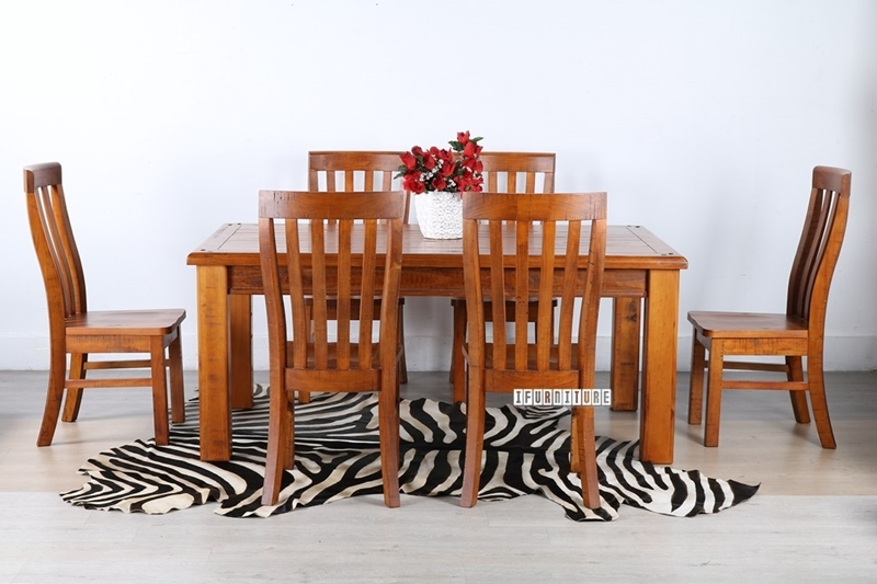 Picture of FOUNDATION Rustic Pine 7PC Dining Set