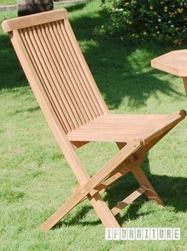 Picture of BALI SOLID TEAK FOLDABLE CHAIR MODEL 001