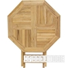 Picture of BALI SOLID TEAK  5PCS TABLE SET  WITH UMBRELLA HOLE  MODEL 037