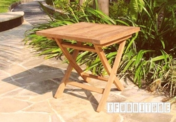 Picture of BALI SOLID TEAK SQUARE FOLDING TABLE MODEL 058