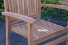 Picture of BALI SOLID TEAK STACK ARM CHAIR MODEL 087