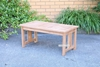 Picture of BALI SOLID TEAK 4PC COFFEE TABLE & SOFAS MODEL 461