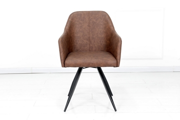 Picture of ELCHE  SWIRL DINING CHAIR WITH ARM