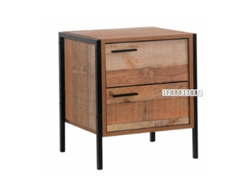 Picture of BUXTON 2 DRAWERS nightstand