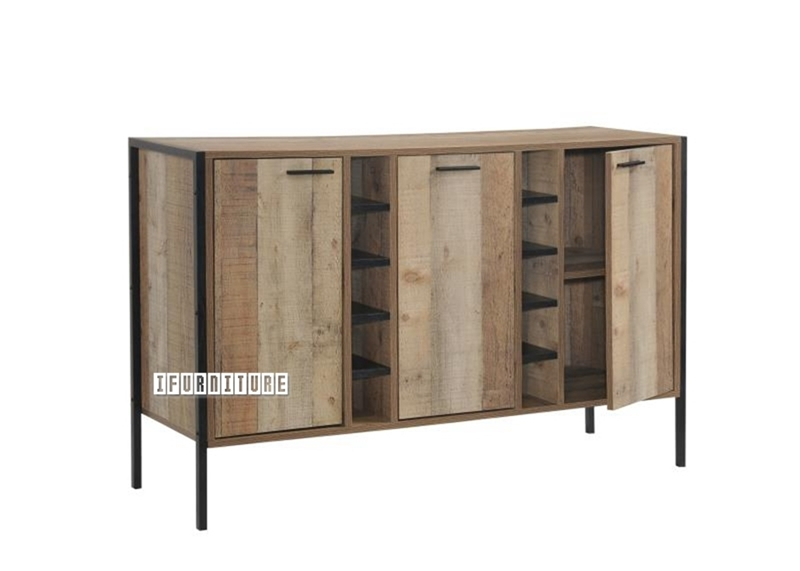 Picture of BUXTON 3 DRAWERS WINE CABINET