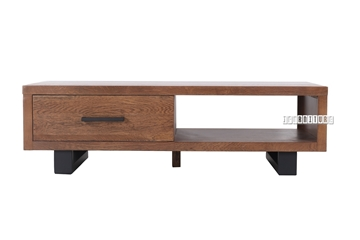 Picture of AURELIUS 1 DRAWER SOLID OAK COFFEE TABLE