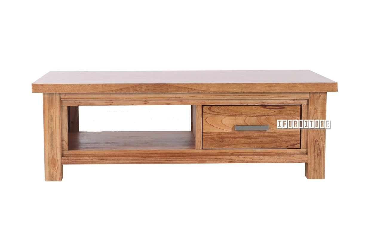 Umbria Mindi Wood Coffee Table Ifurniture The Largest