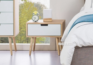 Picture of KINGSTON 1 DRAWER BEDSIDE TABLE