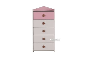 Picture of TWIRL 5 Drawer CHEST *PINK