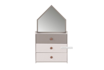 Picture of TWIRL DRESSER *MATTE GREY