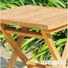 Picture of BALI SOLID TEAK ARM CHAIR & TABLE 3 PC SET