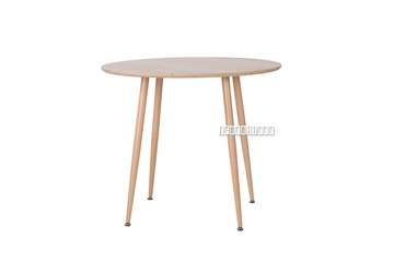 Picture of OSLO ROUND DINING TABLE in 2 SIZES *OAK VENEER