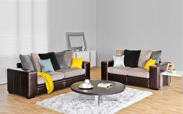 Picture of ERSO SOFA *AIR LEATHER SMOKE