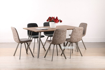 Picture of PLAZA 5 PCS DINING SET in 2 colors