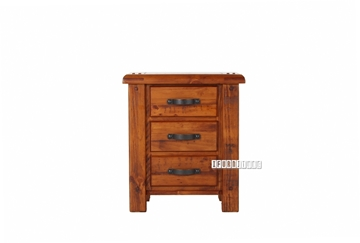 Picture of FOUNDATION RUSTIC PINE NIGHTSTAND