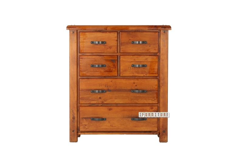 Picture of FOUNDATION RUSTIC PINE 6D CHEST