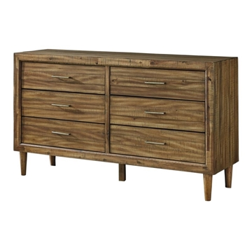 Picture of Broshtan 6 drawer dresser with mirror