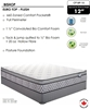 Picture of Springwall BISHOP Euro Top Plush Comfort Pocket Spring Mattress