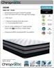 Picture of CHIROPRACTIC DESIRE Euro Top Plush Comfort Pocket Spring Mattress