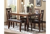 Picture of Bennox Dining Room Table and Chairs with Bench
