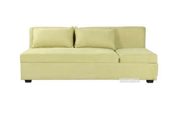 Picture of HOLLY STORAGE SOFA BED *PARROT GREEN