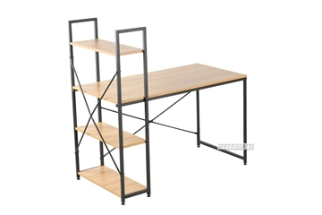 Picture of CITY 120/140 DESK -WITH REVERSIBLE SHELF