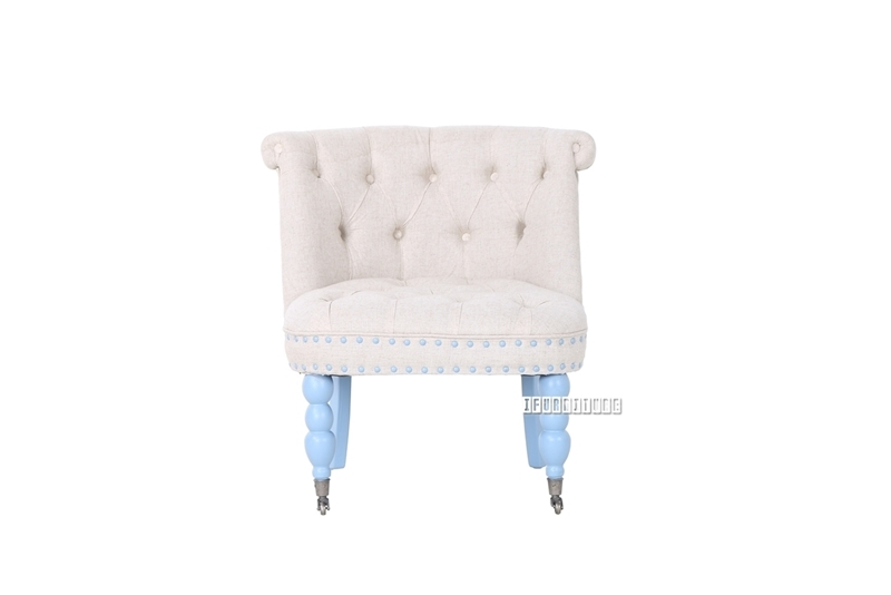 Picture of DUCHESSE LOUNGE CHAIR WITH WHEELS