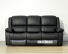 Picture of BRIGHTON  1+2+3 Reclining SOFA RANGE * DARK BROWN AIR LEATHER