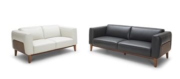 Picture of HUDDERSFIELD 3+2 SOFA RANGE *GENUINE LEATHER