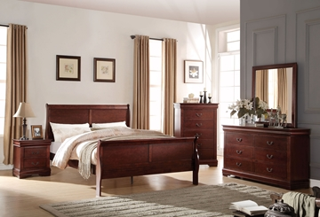 Picture of Louis Philippe bedroom Collection *Cherry