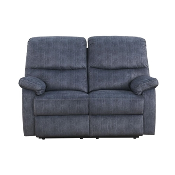 Picture of Saul II Manual Recliner Loveseat * Grey