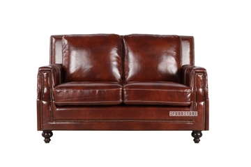 Picture of HACKNEY Loveseat *Chocolate Brown