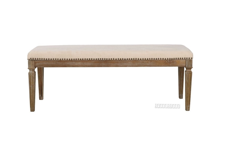Picture of IMPERIAL DINING BENCH *SOLID WHITE WASH TIMBER