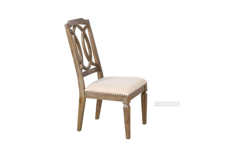 Picture of IMPERIAL DINING CHAIR *SOLID WHITE WASH TIMBER