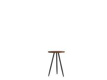 Picture of RIO SIDE table 40 *WALNUT