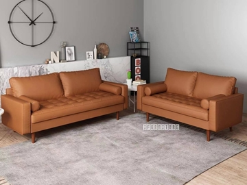 Picture of Faversham 3+2 Sofa Range * Light Brown