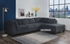 Picture of NEWTON Sectional SOFA *DARK GREY