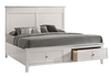 Picture of HARBOR BEDROOM COMBO IN QUEEN / KING SIZE * WHITE