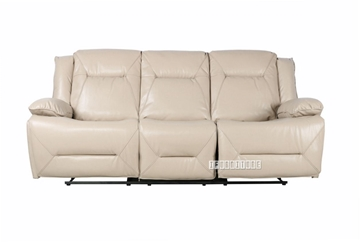 Picture of GORDON DOUBLE MOTOR  1+2+3 POWER RECLINING SOFA RANGE *BEIGE