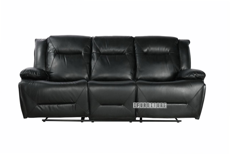 Picture of GORDON DOUBLE MOTOR  1+2+3 POWER RECLINING SOFA RANGE  *BLACK