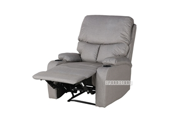 Picture of BECKY RECLINER armchair WITH TWO CUP HOLDERS