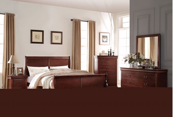 Picture for manufacturer Louis Philippe bedroom Collection *Cherry