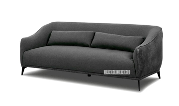 Picture of LEEDS 3+2+1 SOFA RANGE IN DARK GREY* VELVET FABRIC