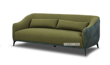 Picture of LEEDS 3+2+1 SOFA RANGE IN GREEN * LINEN FABRIC
